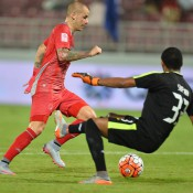 2 goals against Al Kharaitiyat