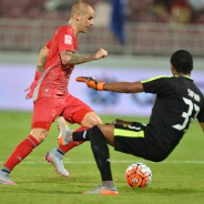 2 goals against Al Kharaitiyat